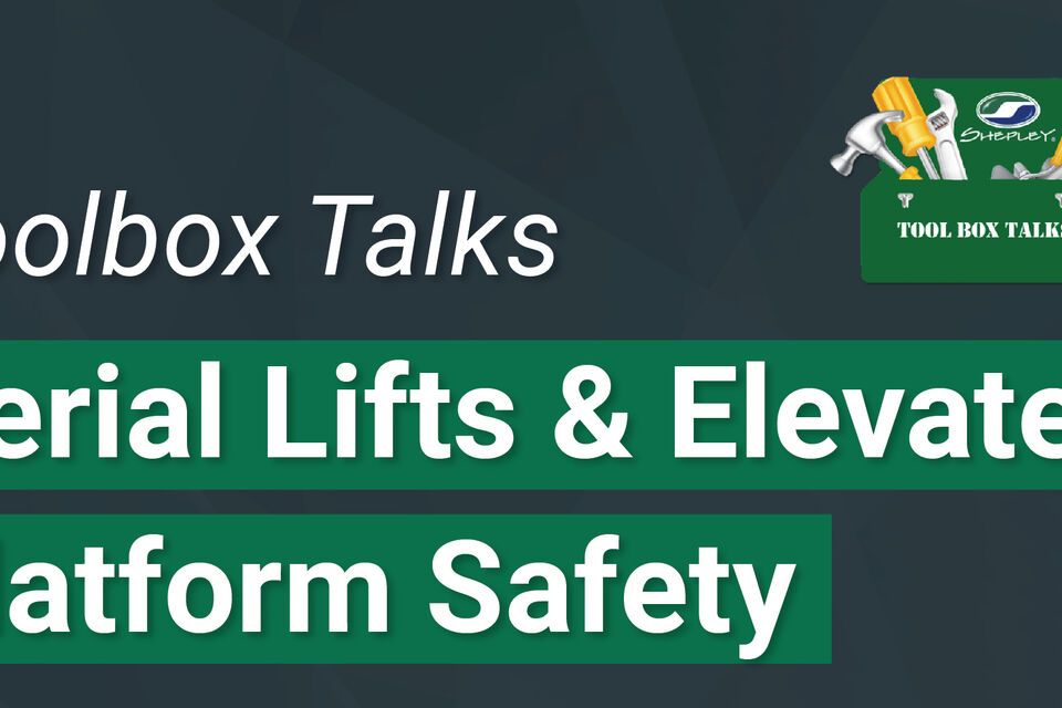 Toolbox Talks Graphics Aerial Lifts